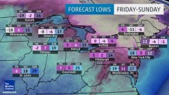 Northeast Braces for Coldest Air in More Than Decade