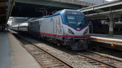 'Bullet Hole?' Objects Strike Amtrak Train Glass