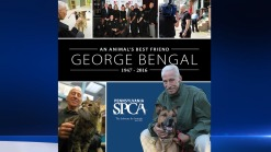 Funeral for PSPCA Law Enforcement Director George Bengal