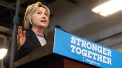 Clinton Blasts Trump's Business Record