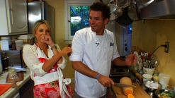 Chris Crary Cooks in Ali's Kitchen for Kitchit