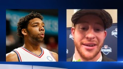 Jahlil Okafor Invites Carson Wentz out for Cheesesteaks