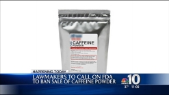 Lawmakers Push to Ban Powdered Caffeine