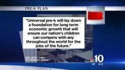 Senator Casey Wants Universal Pre-K