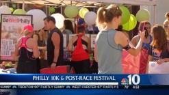 Runners Cross Finish Line for Community Development