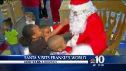 Santa Comes to NoLibs Non-Profit