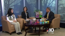 Girl Scouts Kick-Off Annual Cookie Drive