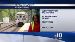 SEPTA Changes Regional Rail Schedules