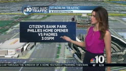 Stadium Traffic Expected for Phillies Home Opener