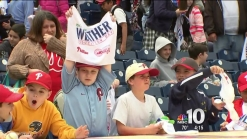 Fun, Weather & Baseball for Young Phillies Fans