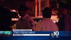 Two Teens Shot in Nicetown
