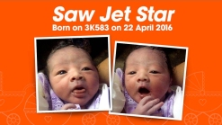 Baby Born on Plane Named After Airline