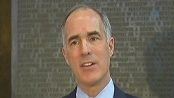 Pa Senator Bob Casey Discusses Fiscal Cliff