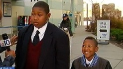 Boys Walk Donations to NBC10's Can Drive