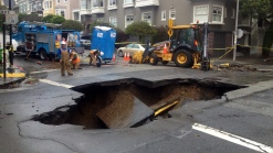 Sen. Casey Wants FEMA to Pay for Sinkhole Repair