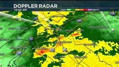 NBC10 First Alert: Rain Continues Through The Night