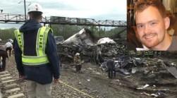NTSB: Engineer Hit Brake as Train Went 100+MPH