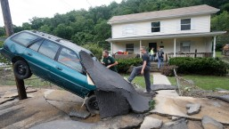 Extreme Weather: Cleanup After Severe Flooding in W. Va