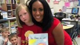 NBC10 Meteorologist Brittney Shipp Visits School Kids