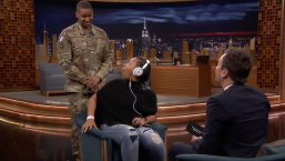 'Tonight': Whisper Challenge Veterans Day Reunion Surprise