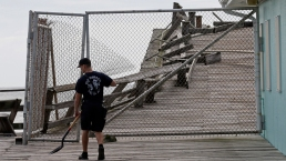Hurricane Dorian Strikes the Outer Banks