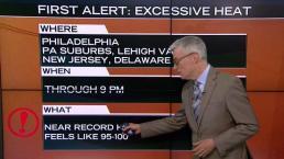 NBC10 First Alert Weather: Excessive Heat