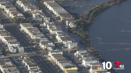 Coastal Flooding Impacts Various Jersey Shore Towns