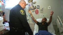 Orlando Survivor Reunited With Cop Who Helped Save His Life
