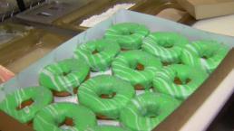 Eagles Doughnuts for Super Bowl Parties