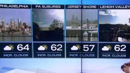 NBC10 First Alert Weather: Clouds Building