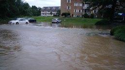 Heavy Rain Causes Flash Flooding Throughout Region