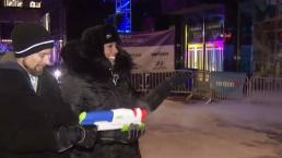 Too Cold for the Water Gun at Super Bowl in Minn.