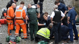 Emergency Crews Respond to Incident at UK's Parliament