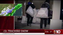 Last Minute Rush for Supplies Ahead of Snow in NJ