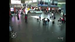 Raw: Airport Video Shows Attack on Brother of N. Korea's Kim