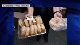 Man Brings Cops Doughnuts as He Turns Himself In