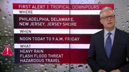NBC10 First Alert Weather: Flooding Threat
