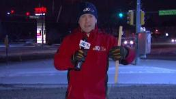 Snow Covers Lehigh Valley