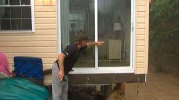 Pennsylvania Flood Leaves House Teetering, Family Stuck on Roof