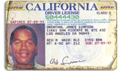 O.J. Simpson's ID Issued During Murder Trial up for Auction