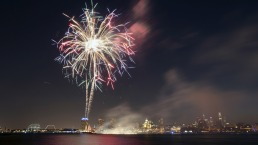Philly Orchestra and Fireworks at Penn's Landing