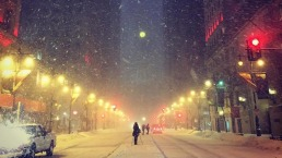 Snow and Bitter Cold Hits the Region