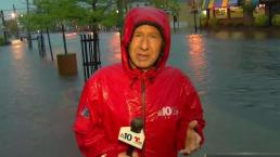 Rain Brings Flooding to Jersey Shore