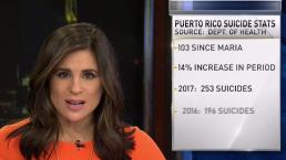 Spike in Suicides in Puerto Rico Since Hurricane Maria