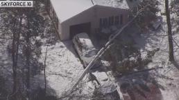Surveying Snowstorm Damage in New Jersey