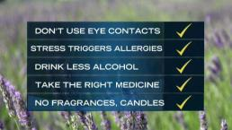 Less Wine: 5 Surprising Tips to Ease Your Allergies