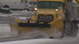 Road Crews Battling Snow