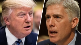 Trump Criticizes Judges Numerous Times, Gorsuch Responds