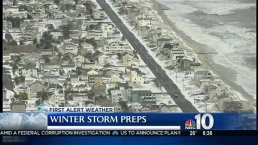 Coastal Storm Surge Worries Down the Shore