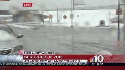 Winds, Snow Blast Atlantic City